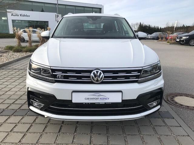 Volkswagen Tiguan Car Import Agency